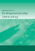 Cover des International Journal of Entrepreneurial Venturing