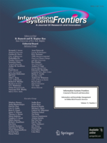 Cover des Journals Information Systems Frontiers